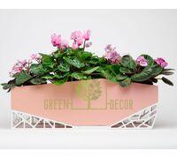 Горшок для цветов Archipot пудровый 5 л
