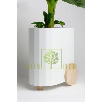 Дизайнерский горшок для цветов FROLLER белый 3,5 л