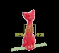 Кот красный глянец 2
