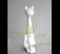 Кот белый глянец 3