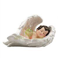 Статуэтка Ангел на крыле малый цветной