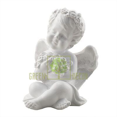 Статуэтка Ангелочек с цветочками
