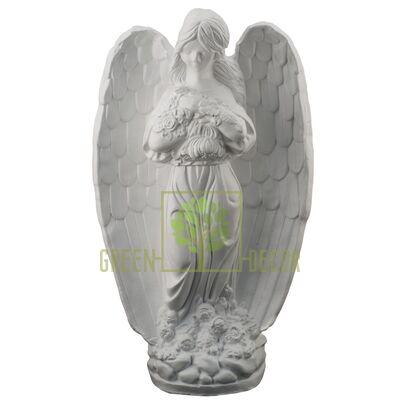 Статуэтка Ангел с цветами