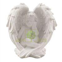 Статуэтка Ангел в крыле белый