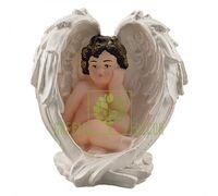 Статуэтка Ангел в крыле цветной