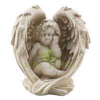 Статуэтка Ангел в крыле песочный