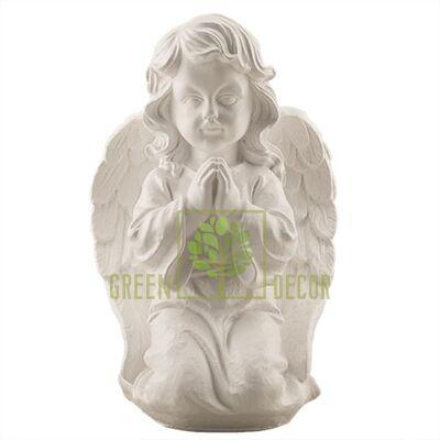 Статуэтка Ангел в молитве большой белый AN0704(G)