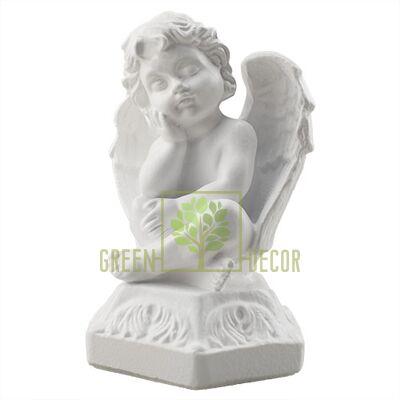 Статуэтка Ангелочек белый AN0035(G)