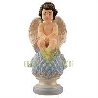 Статуэтка Ангел на шаре цветной