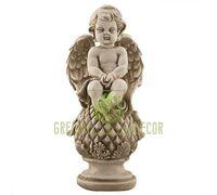 Статуэтка Ангел на шаре песочный