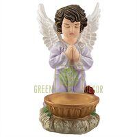 Статуэтка Ангел с чашей большой цветной