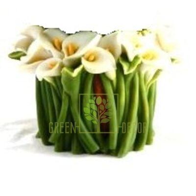 Кашпо для цветов С каллами - оригинальный подарок для родных и близких