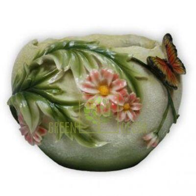 Кашпо для цветов С герберами - оригинальный подарок для родных и близких