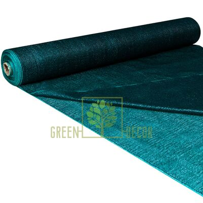 Сетка затеняющая 75 % 3x1 м зеленая (70 г/м2)