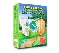 Биопрепарат Биосток 200 г для выгребных ям