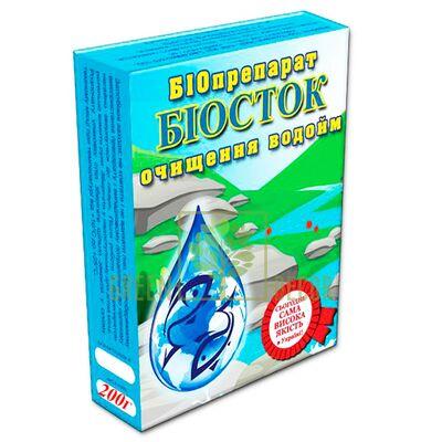Біопрепарат Біосток 200 г для водойм і озер