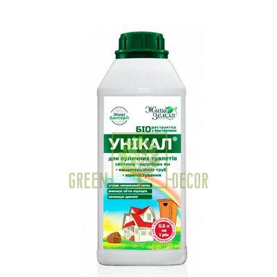 Биопрепарат для туалетов Уникал-р 500 мл