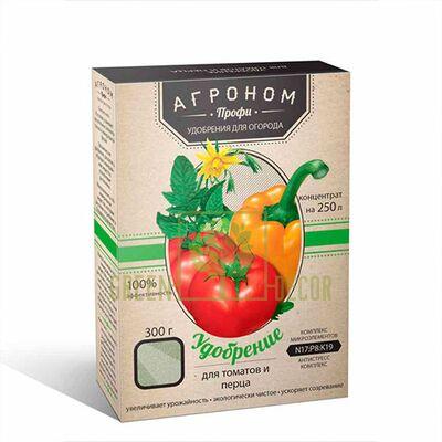 Агроном Профи - удобрение для томатов и перца 300 гр