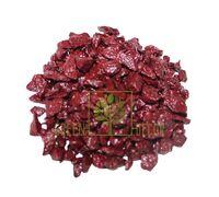 Декоративные камни 0,5 кг бордовые