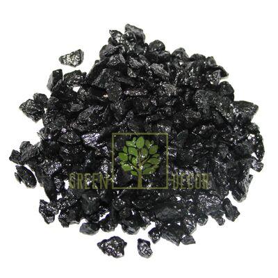 Декоративный щебень для клумб  20 кг черный