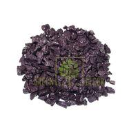 Декоративный щебень 20 кг фиолетовый