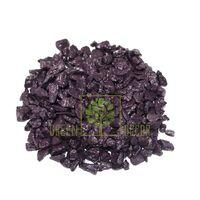 Декоративные камни 1 кг фиолетовые