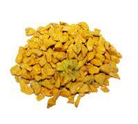 Декоративные камни 0,5 кг желтые