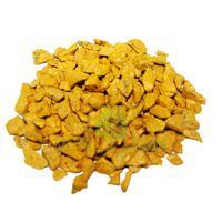 Декоративные камни 3 кг желтые