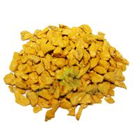 Декоративный щебень 20 кг желтый