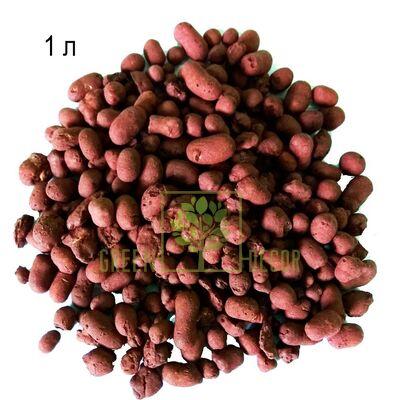 Цветной керамзит mini 1 л  коричневый