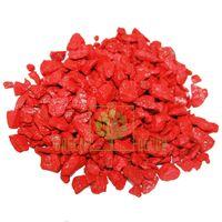 Декоративный щебень 20 кг красный