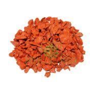 Декоративный щебень 20 кг оранжевый