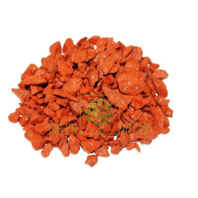 Декоративні камінці 3 кг помаранчеві ZRостай