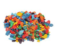 Декоративные камни 0,5 кг микс-радуга