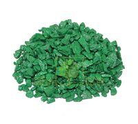 Декоративные камни 0,5 кг зеленые ZRостай