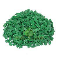 Декоративный щебень 20 кг зеленый
