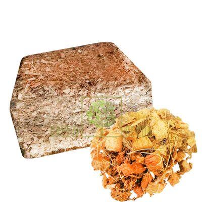 Кокосовые чипсы пресованные 14 л (3- кг) ZRостай в брикете