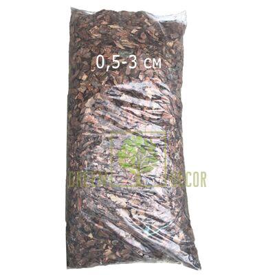 Сосновая декоративная кора мелкая 0,5-3 см 50 л