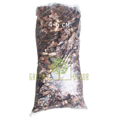 Сосновая декоративная кора средняя 4-6 см 50 л