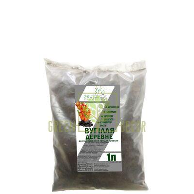 Купить уголь древесный 1 л ZRостай для Орхидей