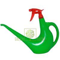 Лейка-опрыскиватель зеленая 1,5 л