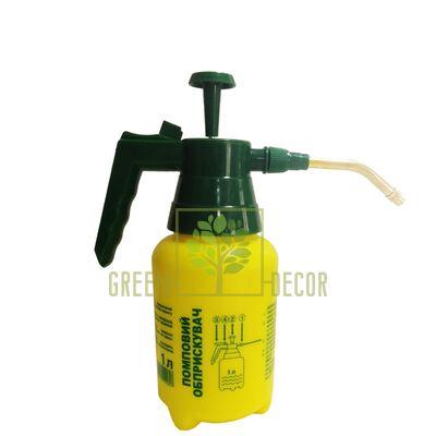 Лейки и опрыскиватели Опрыскиватель помповый 1 л с наконечником от Китай  Green Decor