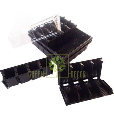 Парничок-кассета для рассады 20 ячеек трансформер