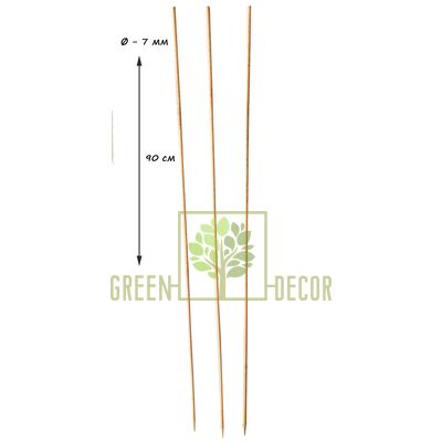 Бамбуковый пруток для растений 90 см