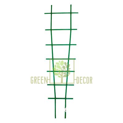 Лесенка-опора 70 см зеленая пластиковая