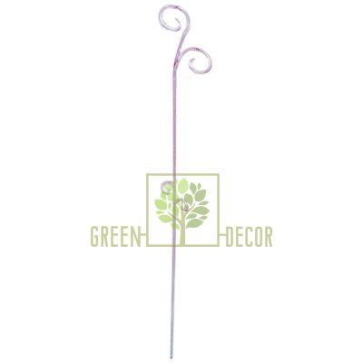Опора для орхидей фиолетовая  61 см