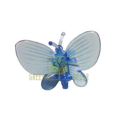 Зажим для орхидей Бабочка синий