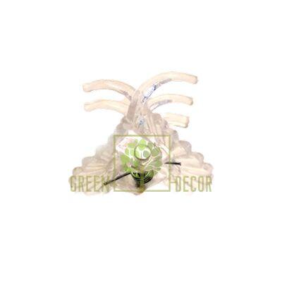 Зажим для орхідей Квітка прозорий