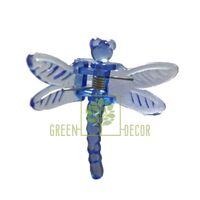 Зажим для орхидей Стрекоза синий