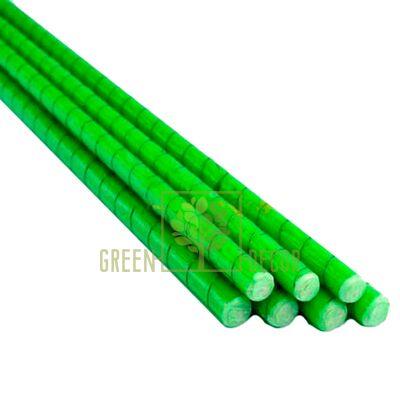 Опора композитная 8 мм PCBP-150 см зеленая для растений и цветов